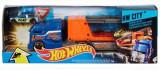 Jucarie Hot Wheels City Crashin' Big Rig Transporteur Super Crash Blue Truck