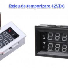 Releu temporizare programabil ciclic centrala peleti snec 12V