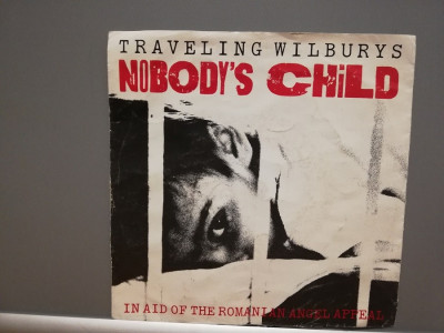 Traveling Wilbury's – Nobody's Child (1990/Warner/Germany) - VINIL Single/NM foto