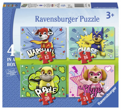 Puzzle Paw, 12/16/20/24 Piese foto