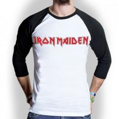 Tricou Maneca Lunga Iron Maiden: Logo