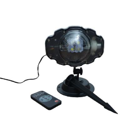 Proiector Snow Flower Lamp , cu 1001 de fulgi de nea foto