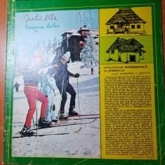 Romania pitoreasca ianuarie 1976-art. si foto nasaud si statiunea amara