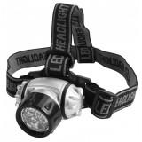 Lanterna pentru cap Tolsen, 7 led-uri, 25 lm, 10 m, ABS