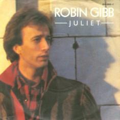 "Robin Gibb - Juliet (1988, Polydor) Disc vinil single 7"""