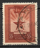 România - 1952 - LP 324 - Medalia Secera și Ciocanul - serie completă obliterată