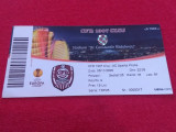 Bilet meci fotbal CFR 1907 CLUJ - SPARTA PRAGA (05.11.2009)