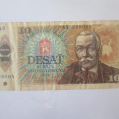 Cehoslovacia 10 Korun 1986