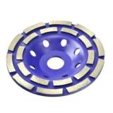 Disc diamantat dublu pentru slefuire beton 125 mm, Geko G00375