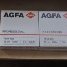 Benzi magnetofon AGFA PEM 469 professional de 13cm noi