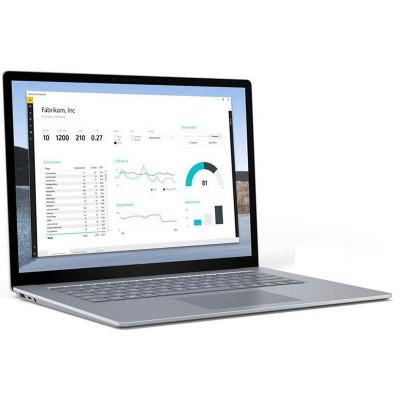 Laptop Microsoft Surface 3 15 inch Touch Intel Core i5-1035G7 8GB DDR4 256GB SSD Windows 10 Pro Platinum foto