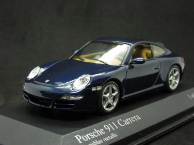 Macheta Porsche 911 Carrera Minichamps 1:43 foto
