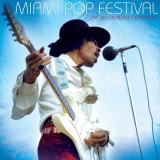 Jimi Hendrix Experience Miami Pop Festival LP (2vinyl)