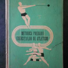 EUGENIU LAURENTIU BRAN - METODICA PREDARII EXERCITIILOR DE ATLETISM (1965)