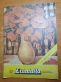 Revista pentru copii - luminita ianuarie 1987