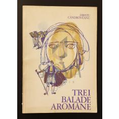 Trei Balade Aromane - Hriscu Candroveanu