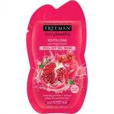 Masca exfolianta antioxidanta FREEMAN Revitalizing Pomegranate Peel Off Gel Mask 15 ml