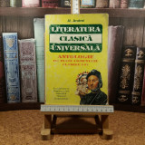 "Al. Andrei - Literatura clasica universala clasele I - IV ""A3425"""