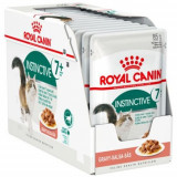 Cumpara ieftin Royal Canin Feline Instinctive 7+, 12 plicuri x 85 g