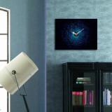 Cumpara ieftin Tablou decorativ cu ceas Clockity, 248CTY1612, Multicolor