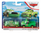CARS3 SET 2 MASINUTE METALICE CHICK HICKS SI CHIEF CHICK, Mattel