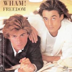 "Wham! - Freedom (1984, Epic) Disc vinil single 7"""