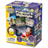 Proiector 2 in 1 - Animalute PlayLearn Toys