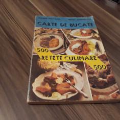 CARTE DE BUCATE 500 RETETE CULINARE ECATERINA TRISCA-GANEA