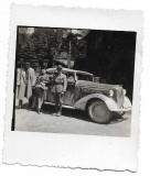 C1361 Ofiter si soldat roman automobil epoca al doilea razboi mondial