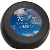 "Cumpara ieftin Boxa Inteligenta Echo Spot, Bluetooth, Alexa, Control Vocal, Display 2.5"", Apeluri Video, Radio, Negru, Amazon"