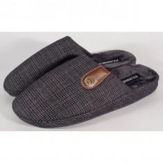 Papuci de casa bleumarini pentru barbati/barbatesti (cod 192-180944)
