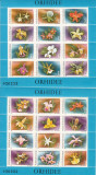 ROMANIA 1988  LP 1210  ORHIDEE   - BLOCURI  MNH