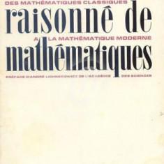 Dictionnaire raisonne de mathematiques