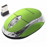 Mouse optic fara fir XM105G 3D 2.4GHZ culoare verde
