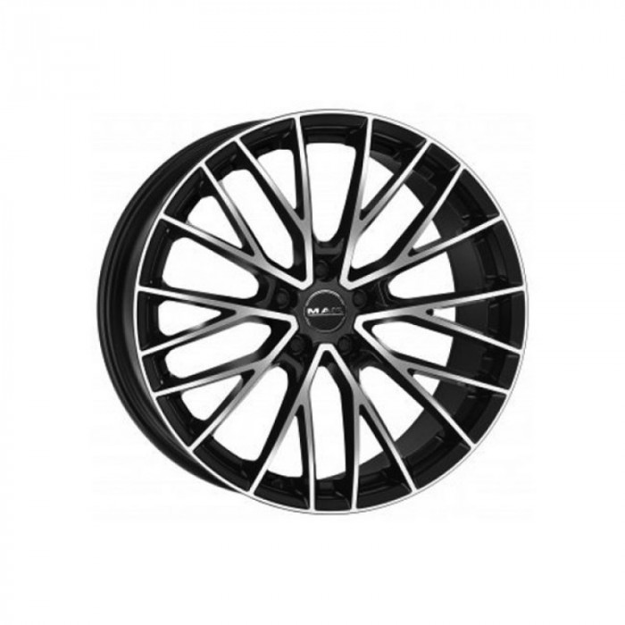 Jante BMW Seria 7 Staggered (750) 9.5J x 20 Inch 5X112 et41 - Mak Speciale-d Black Mirror - pret / buc