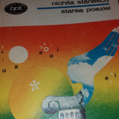 STAREA POEZIEI-NICHITA STANESCU-418 PG- TD
