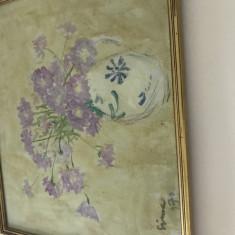 Vand tablou semnat Ioan Sima