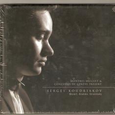 CD Sergey Koudriakov – Mozart, Brahms, Stravinsky, original