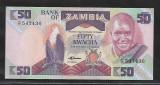 Zambia 50  Kwacha  1986 -UNC