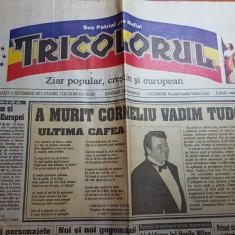 Ziarul politica 15 septembrie 2015 - moartea lui corneliu vadim tudor