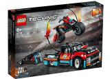 Cumpara ieftin LEGO Technic - Camion si motocicleta pentru cascadorii 42106