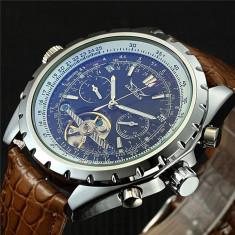 Ceas Barbati, JARAGAR, Automatic-Mecanic, Afisaj Analog, model FLJ058