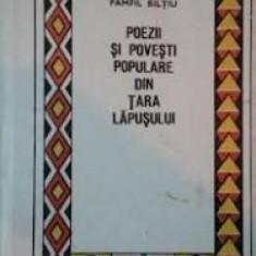Poezii si povesti populare din Tara Lapusului-Pamfil Biltiu