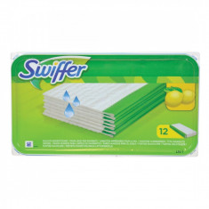 Laveta rezerva pentru mop podea Swiffer Sweeper , set 12 lavete umede