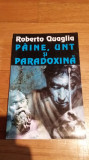Roberto Quaglia - Paine, unt si paradoxina Editura Nemira Nautilus 157 SF