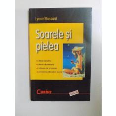 SOARELE SI PIELEA de LYONEL ROSSANT , 2002