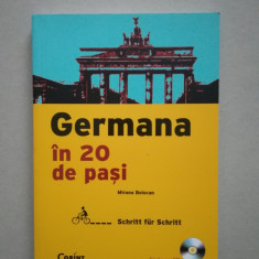 Germana in 20 de pasi + CD