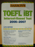 PAMELA J. SHARPE - BARRON'S - TOEFL IBT 2006 - 2007 ( 12TH EDITION )