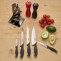 Set cuțite bucătărie din 6 piese, TITANIUM