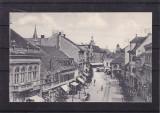 SIBIU  STRADA  CISNADIEI    CIRCULATA  1916
